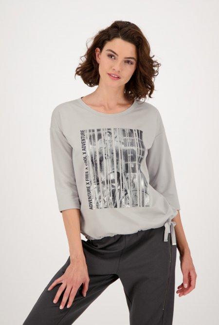 Jersey_Shirt_zum_Binden_mit_¾_Arm-Grau-monari