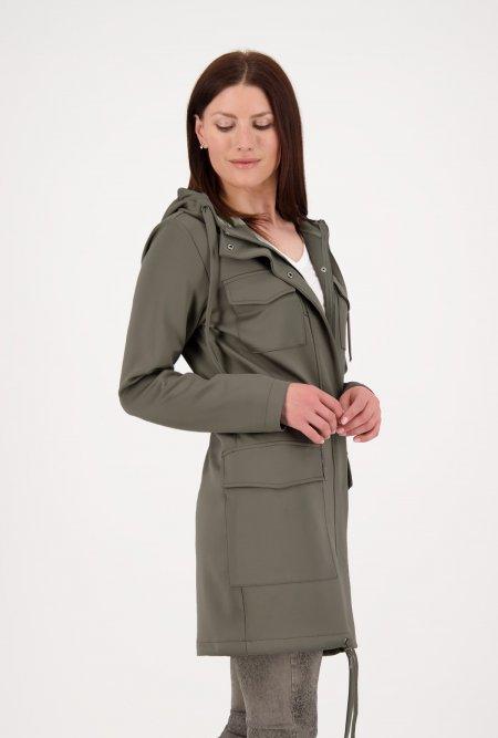 Mantel_aus_Neopren-Qualität_mit_aufgesetzten_Taschen-Grün-Khaki-monari