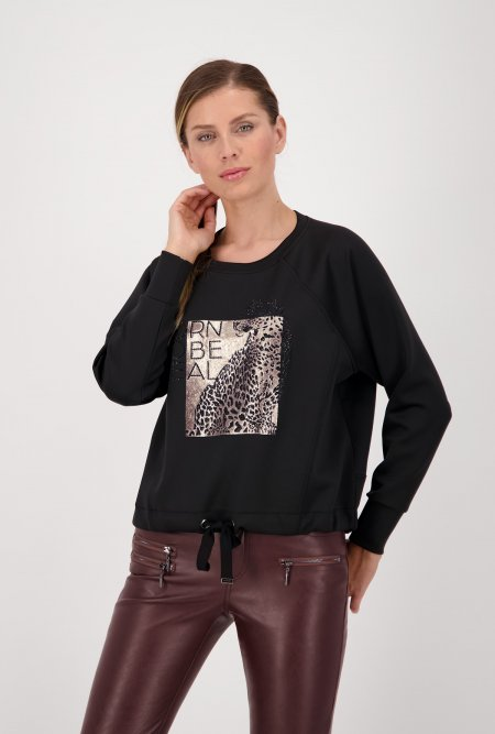 Rundhals_Shirt_im_Animal_Look_mit_Strass-Schwarz-monari