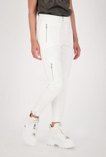 monari_Jogger_in_Jersey_Qualität_mit_7/8_Länge-Weiß-Off-White-monari