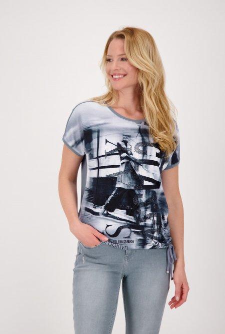 Bedrucktes_Shirt_mit_Halbarm_und_Strass-Schwarz-Weiß-Blau-monari