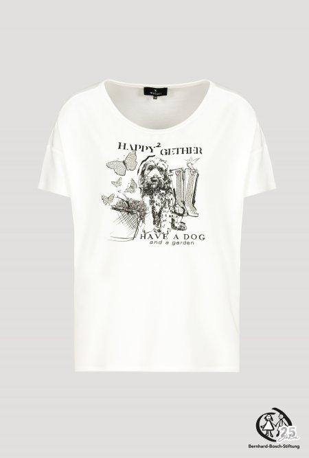 T-Shirt mit Rundhals und Aufdruck
