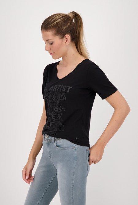 Jersey_Shirt_mit_V-Ausschnitt_und_Halbarm_in_schwarz-Schwarz-monari