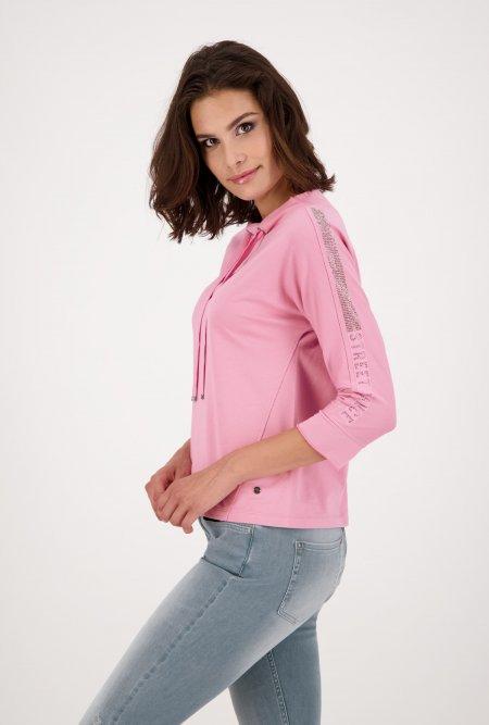 Kurzarm_Shirt_mit_Stekragen-Pink-monari