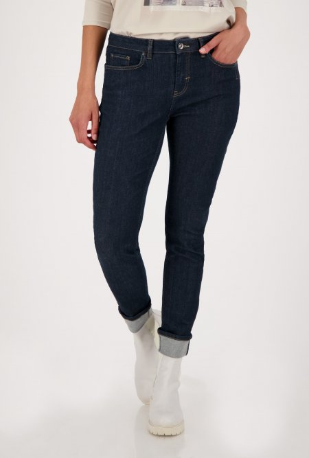 5_Pocket_Jeans_mit_Beinaufschlag-Blau-monari